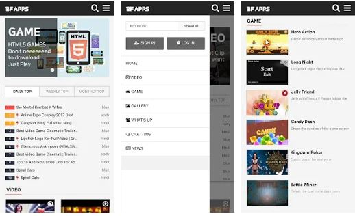 BF APPS Free Multi contents Community Platform