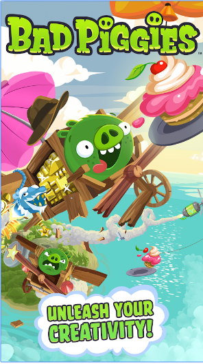Bad Piggies android appl