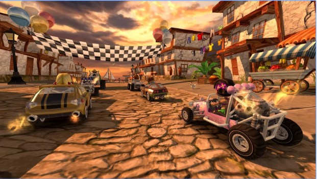 Beach Buggy Racing android appl