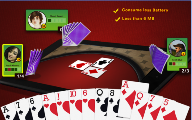 Call break Multiplayer Card Game android app