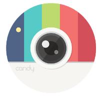 Candy Camera - selfie, beauty camera, photo editor android app logo