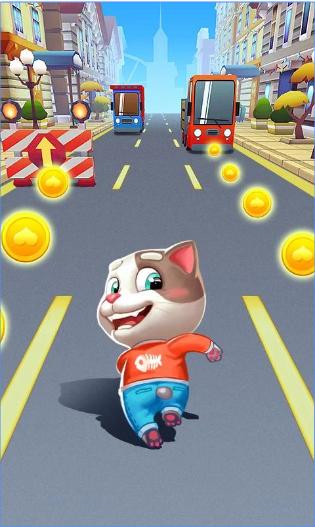Cat Rush - Subway & Bus Run android app