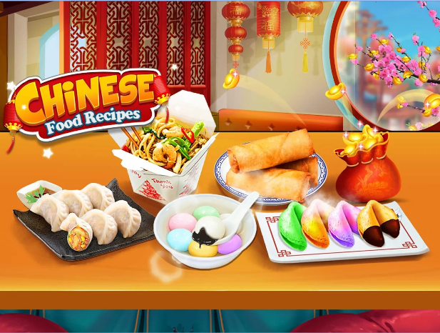 Chinese Food! Make Yummy Chinese New Year Foods! android app