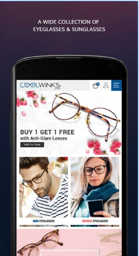 Coolwinks Eyewear - Eyeglasses & Sunglasses App android app