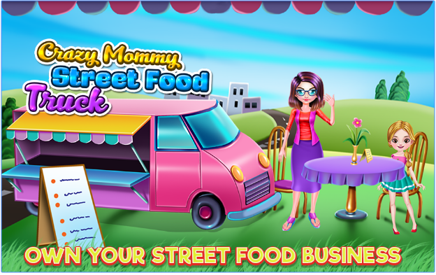 Crazy Mommy Street Food Truck android app