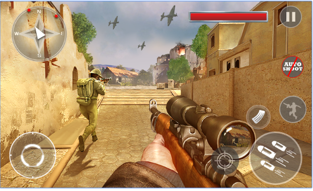 Critical Army Sniper Shooting Counter android appl