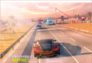 Extreme Speed Race Highway Traffic