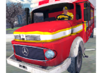 Fire Truck Rescue Simulator android appl logo