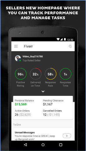 Fiverr - Freelance Services android app
