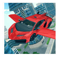 Flying Car 3D android app logo