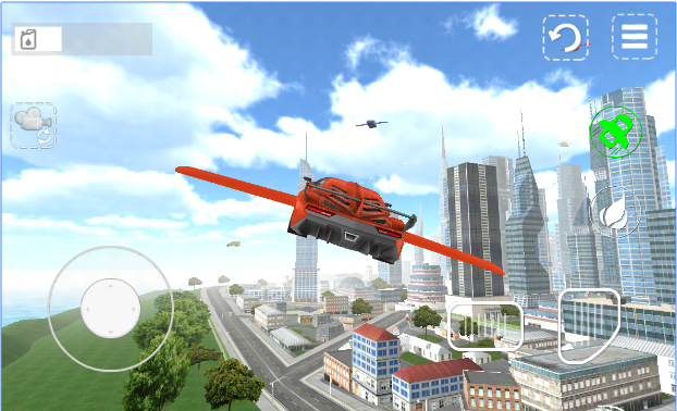Flying Car 3D android app