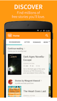 Free Books & Stories - Wattpad android app
