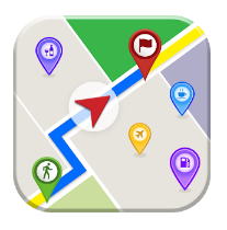 GPS Maps, Directions - Route Tracker, Navigations android app logo