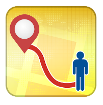 GPS Route Finder & Location Tracker Free android app logo