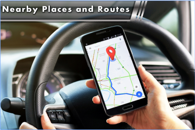 GPS Route Finder & Location Tracker Free android app