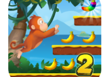 Jungle Monkey Run 2 android app logo