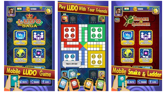 Ludo Saga – Best Board Game with Friends android app