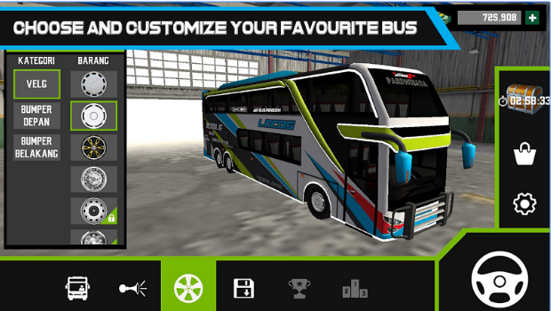 Mobile Bus Simulator android app