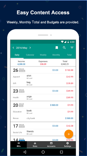 Money Manager Expense & Budget android app