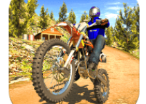 Offroad Bike Racing game logo
