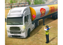 Oil Tanker Transporter SIM 2018 android app logo