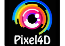 Pixel 4D live wallpapers android app logo