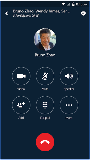 Skype for Business for Android android app