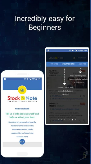 Stock Note - Stock Market News, Analysis & Trading android appl