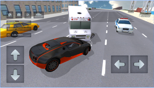 Street Racing Car Driver android app