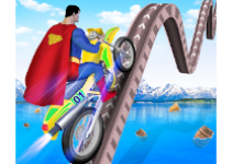 Superhero Bike Stunt Tricks Master android app logo