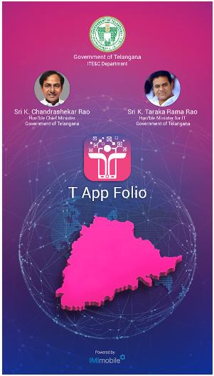 T App Folio android app