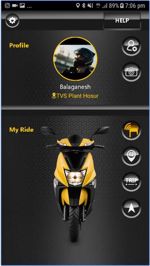TVS NTORQ android app