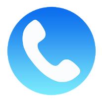 WePhone - free phone calls & cheap calls android app logo