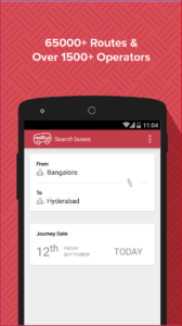 redBus Online Bus Ticket Booking, Hotel Booking
