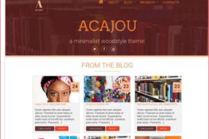 Acajou WordPress Theme