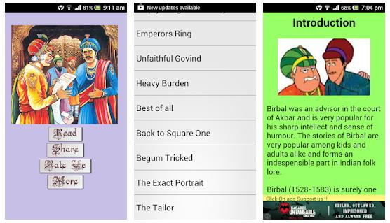 Akbar-Birbal Tales android app
