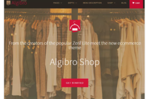 Algibro Shop WordPress Theme