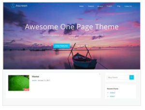 Ascreen WordPress Theme