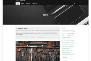 Attire WordPress Theme