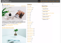 AyaMagazine WordPress Theme