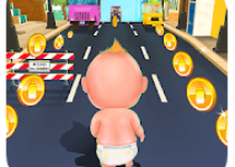 Baby Run - Babysitter City Escape android app logo