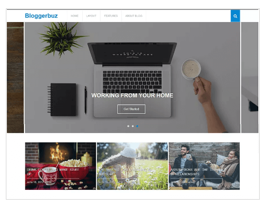 Bloggerbuz WordPress Theme