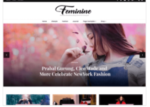 Blossom Feminine WordPress Theme