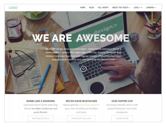 Business Press WordPress Theme