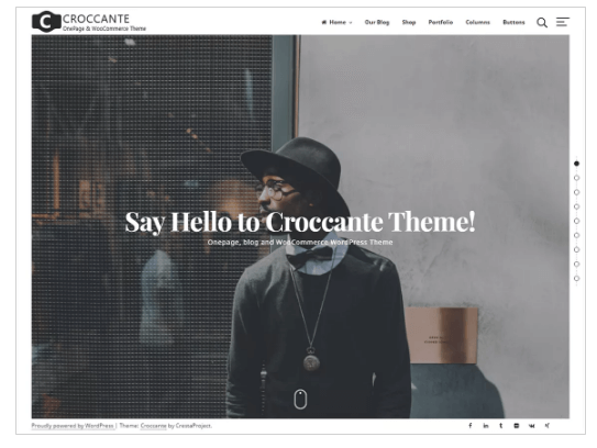 Croccante WordPress Theme