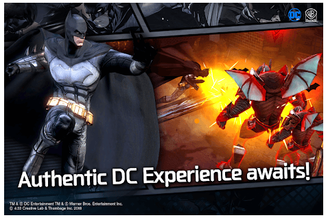 DC UNCHAINED android app