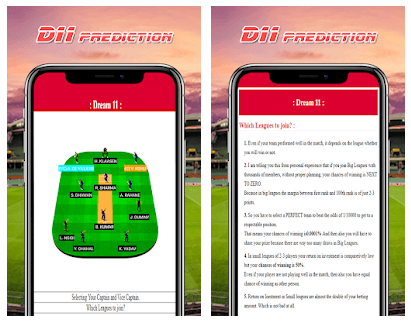 DREAM 11 TIPS AND PREDICTIONS android app
