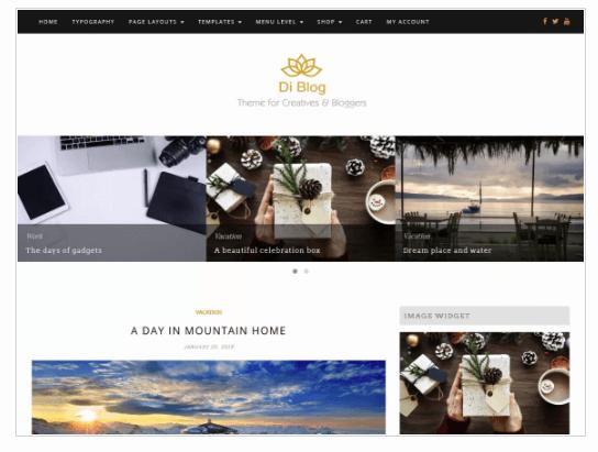 Di Blog WordPress Theme