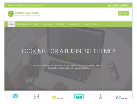Di Business WordPress Theme