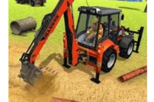 Excavator Simulator 2018 android app logo